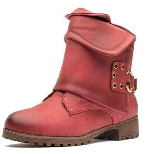 🔥BOGO🔥 🆕 Karkein red moto combat zip up boots